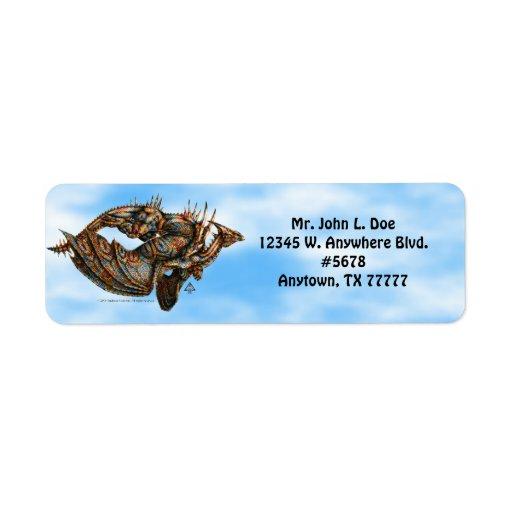 Dragongiant (color) Return Address Label
