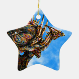 Dragongiant (color) Star Ornament