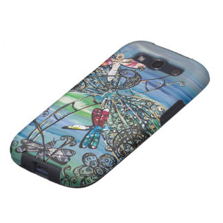 Dragongly Jewels la caja de la galaxia S de 2 Sams Samsung Galaxy S3 Funda