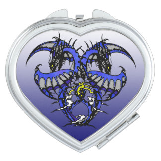 Dragonheart: Blue Smoke Mirror For Makeup