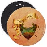 Dragonheart Pinback Buttons
