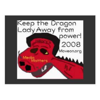 dragonlady postcard