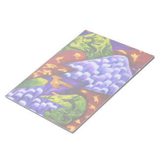 Dragonland - dragones verdes y montañas azules del blocs