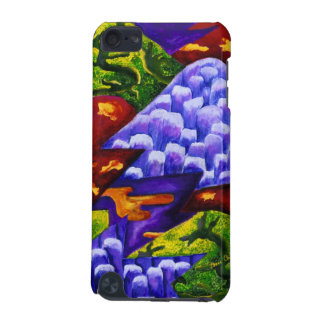 Dragonland - Green Dragons & Blue Ice Mountains iPod Touch (5th Generation) Cases