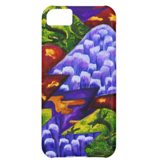 Dragonland - Green Dragons & Blue Ice Mountains iPhone 5C Covers