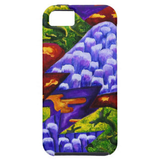 Dragonland - Green Dragons & Blue Ice Mountains iPhone SE/5/5s Case