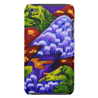 Dragonland - Green Dragons & Blue Ice Mountains iPod Case-Mate Case