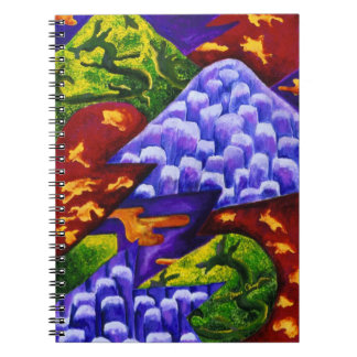 Dragonland - Green Dragons & Blue Ice Mountains Notebook