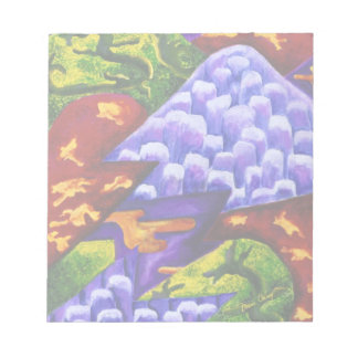 Dragonland - Green Dragons & Blue Ice Mountains Notepad