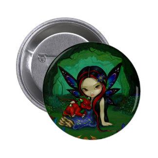 """Dragonling botón del jardín I"" Pin"
