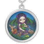 Dragonling Garden 3 NECKLACE dragon fairy animals