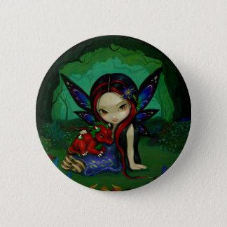 """Dragonling Garden I"" Button"