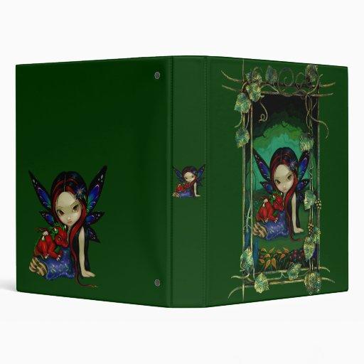 Dragonling Garden I fairy dragon Binder