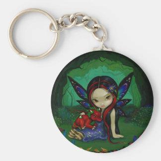 """Dragonling Garden I"" Keychain"