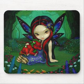 """Dragonling Garden I"" Mousepad"