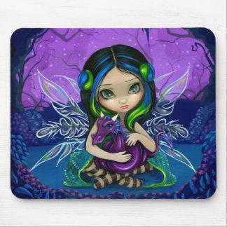 """""""Dragonling Garden II"""" Mousepad"""