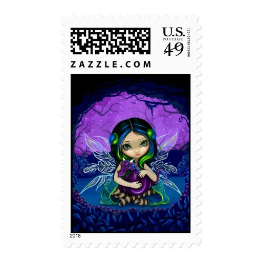 """""""Dragonling Garden II"""" Stamp"""