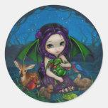 """Dragonling Garden III"" Sticker"