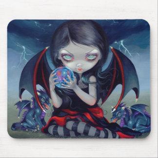 """Dragonling oscuro"" Mousepad"