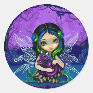 """""""Dragonling pegatina del jardín II"""""""