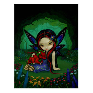 """Dragonling postal del jardín I"""