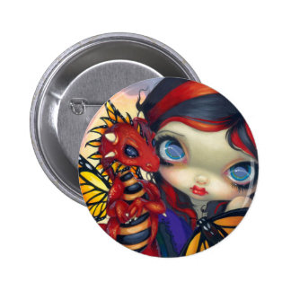 """""""Dragonling querido botón de III"""" Pin Redondo De 2 Pulgadas"""