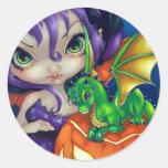 """""""Dragonling querido pegatina de II"""""""