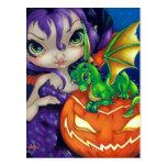 """Dragonling querido postal de II"""