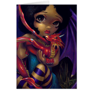 """Dragonling querido tarjeta de felicitación de I"""