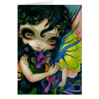 """Dragonling querido tarjeta de felicitación de V"""