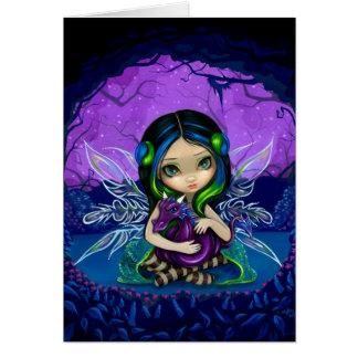 """""""Dragonling tarjeta de felicitación del jardín II"""""""