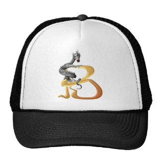 Dragonlore Initial B Trucker Hat