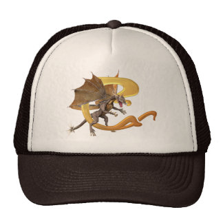Dragonlore Initial C Trucker Hat