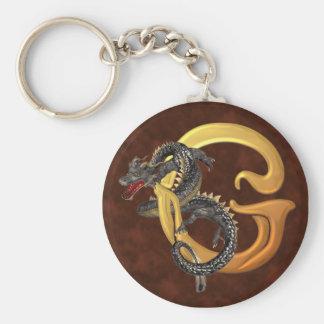 Dragonlore Initial G Keychains
