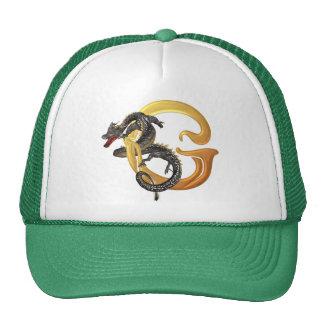 Dragonlore Initial G Trucker Hat