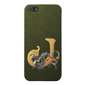 Dragonlore Initial J iPhone SE/5/5s Case
