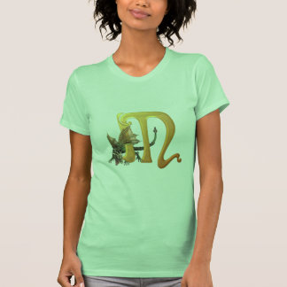 Dragonlore Initial M T-Shirt