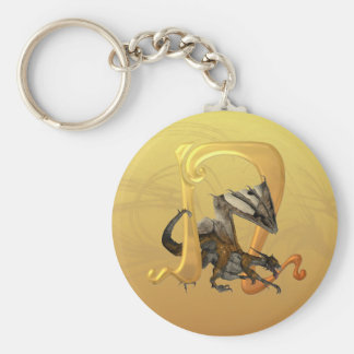 Dragonlore Initial N Keychain