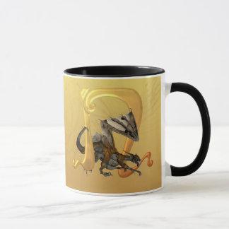 Dragonlore Initial N Mug