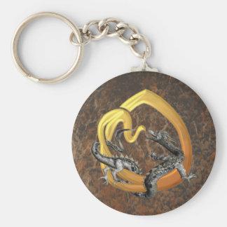 Dragonlore Initial O Keychain