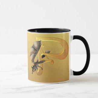Dragonlore Initial P Mug