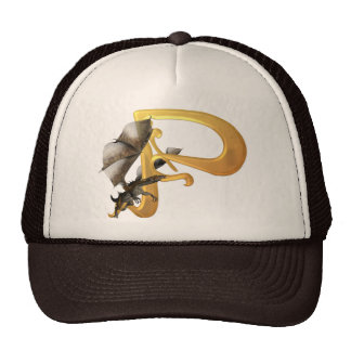 Dragonlore Initial P Trucker Hat
