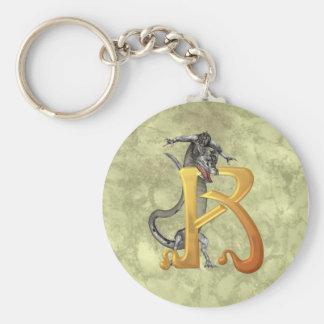 Dragonlore Initial R Keychain