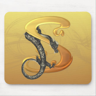 Dragonlore Initial S Mouse Pad