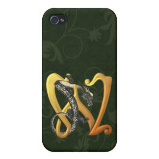 Dragonlore Initial W Case For iPhone 4
