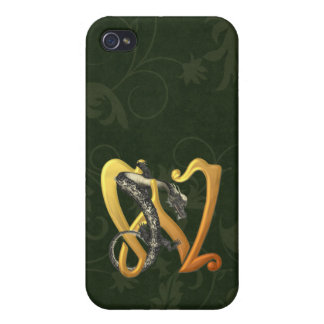 Dragonlore Initial W iPhone 4/4S Covers