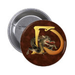 Dragonlore Initials D Pins