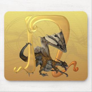 Dragonlore N inicial Alfombrillas De Raton