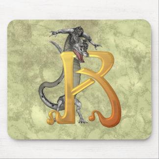 Dragonlore R inicial Alfombrilla De Ratón