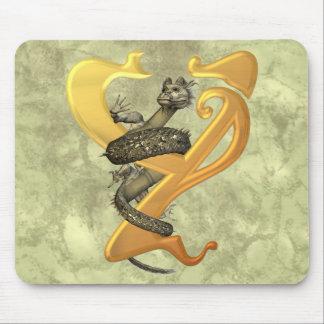 Dragonlore Y inicial Alfombrillas De Ratones